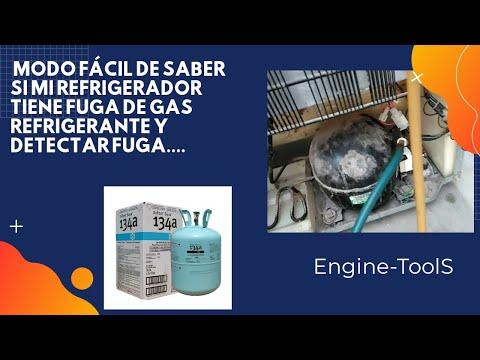 MODO FACIL DE SABER SI MI REFRIGERADOR TIENE GAS REFRIGERANTE Y DETECTAR FUGA DE GAS