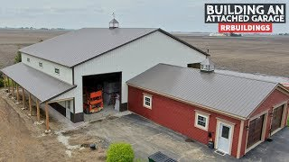 How to Build a Garage Addition 23: Exterior Finishes, Trim Details