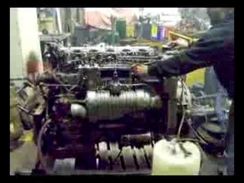 Diesel Engine Working >> Foden FD6 - YouTube