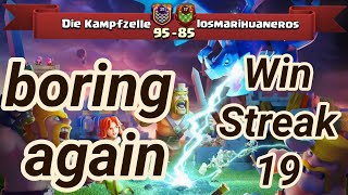 win streak 19 Die Kampfzelle vs losmarihuaneros | war recap | best of 3 star | COC clash of clans 20