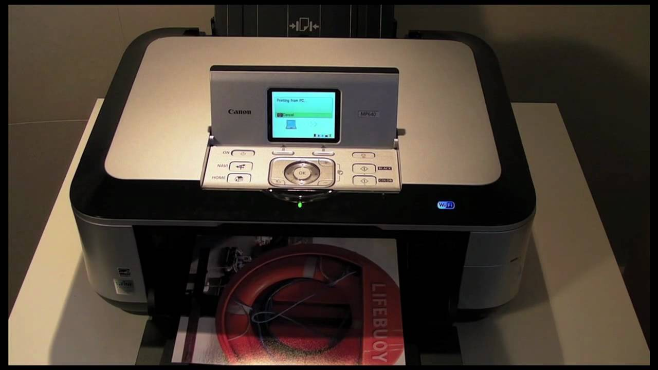 CANON MP640 PRINTER DRIVER