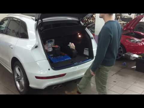 Интеллектуальная система открывание багажника на AUDI Q5