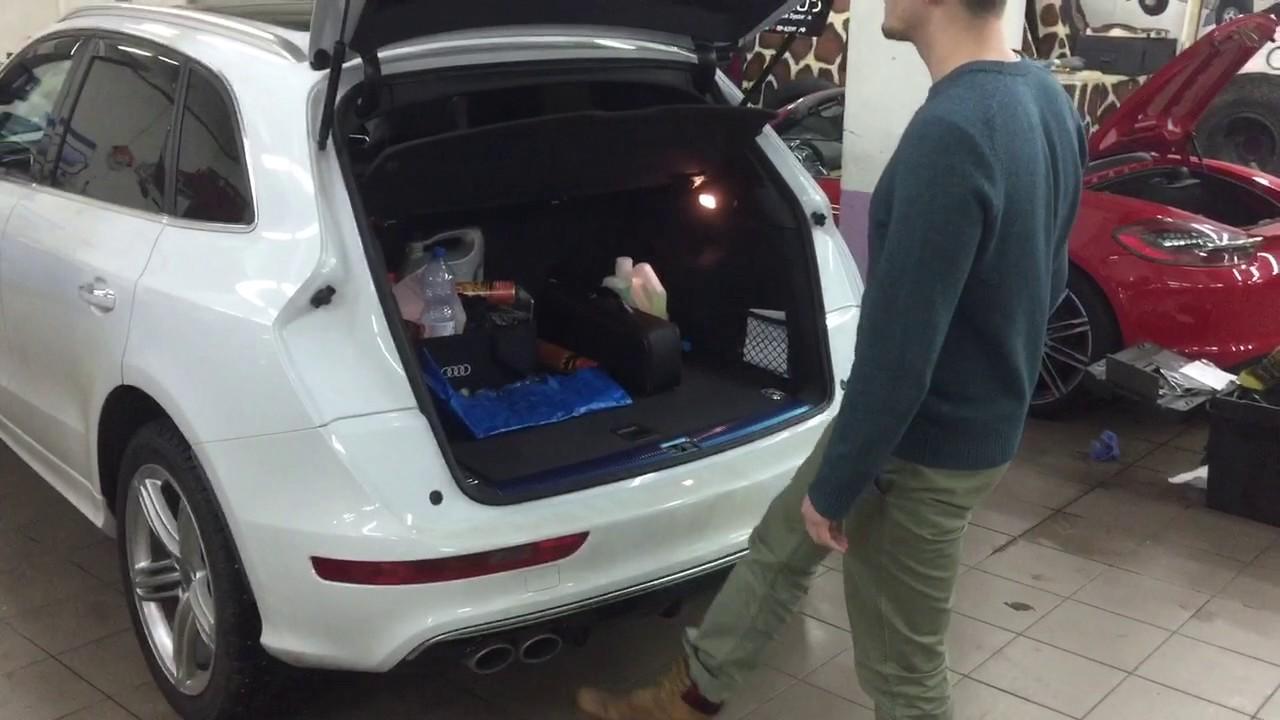 модуль закрывания крышки багажника audi vag
