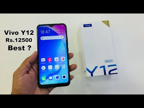 Vivo Y12 Full phone specifications review and unboxing 2019