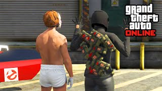 GTA 5 PC Online Trolling Gameplay! GTA V PC Funny Moments! (GTA 5 PC Max Settings)