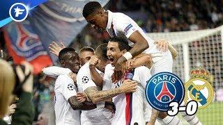 Les joueurs du PSG réagissent après la claque donnée au Real Madrid (3-0)