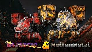 M4J35T1C & MoltenMetal Group Queue Collaboration - Catapult Butterbee - Mechwarrior Online