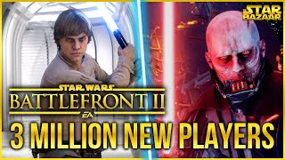 Gambar cover Battlefront 2 Has 3 MILLION+ New Players. EA Made A Mistake | Battlefront Update