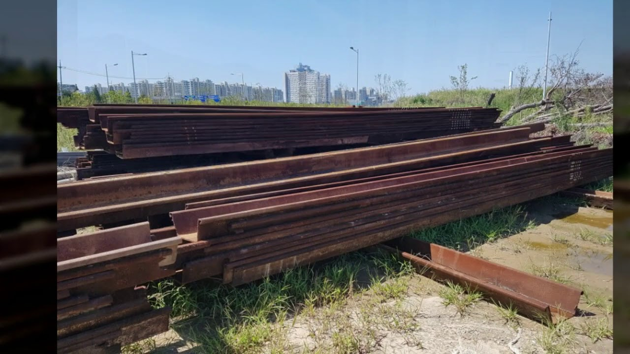 Used Sheet Pile Sale