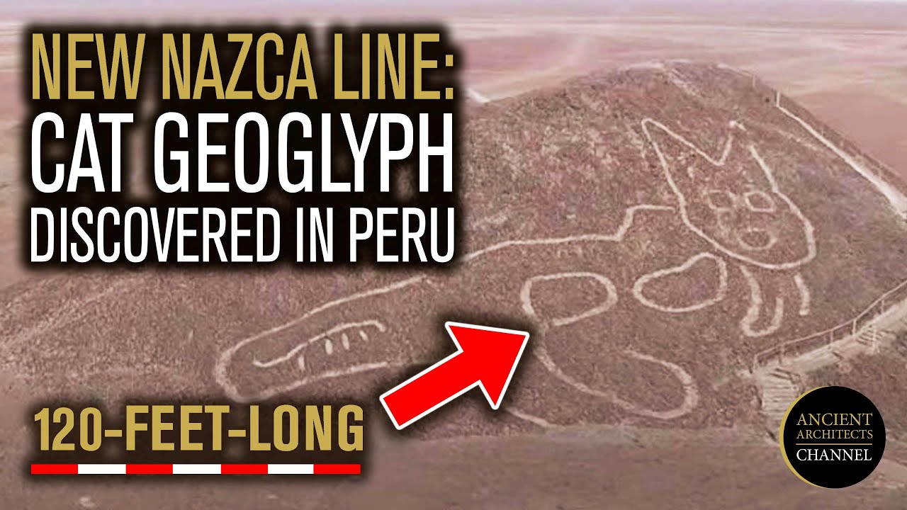 New Nazca Line: 120-foot-Long Cat Geoglyph Discovered | Ancient Architects