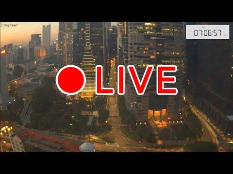 【LIVE CAMERA】Downtown Singapore シンガポール ライブカメラ