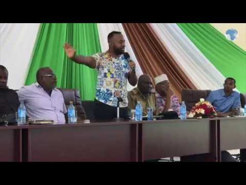 Governor Hassan Joho talks about the security situation in the Coastal region