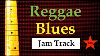 Gambar cover Reggae Blues Jam Backing Track (Bm)