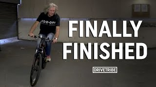 IT'S FINISHED! - James May builds a bicycle | Part 4