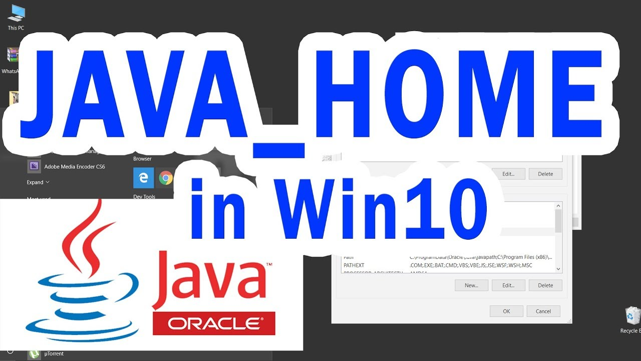 how to set java environment variable in windows 7