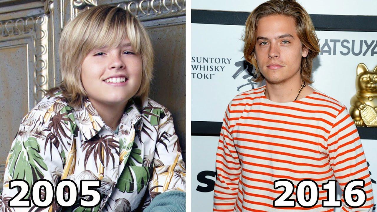 Zack and Cody Schauspieler früher vs heute - YouTube