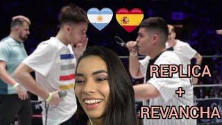 ARGENTINA VS ESPAÑA GOD LEVEL FEST MEXICO 2019 TERCER Y CUARTO PUESTO 🔥 reaccion y opinion