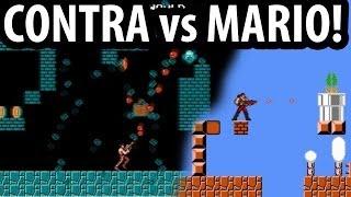 CONTRA & Megaman vs Mario (NES)