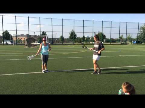 1v1 Defensive Instruction For Girls Lacrosse