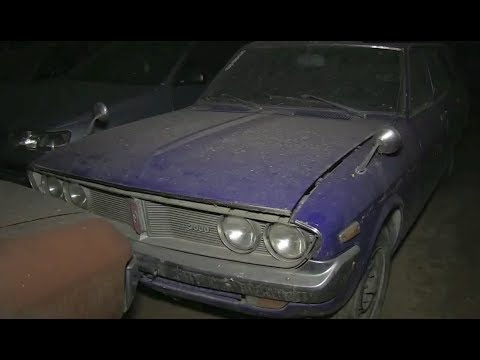 Złomnik: austriacka kolekcja Toyot i Fiatów (2013)