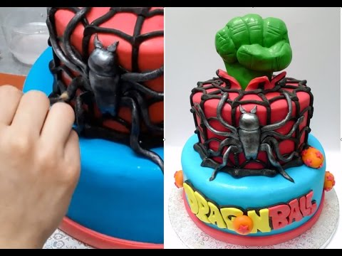 How To Make a Superheroes Cake Birthday Cake Ideas by Cakes