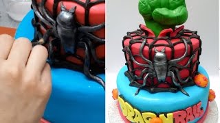 How To Make a Superheroes Cake - Birthday Cake Ideas by Cakes StepbyStep