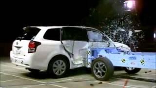 Crash Test 2012- Toyota Corolla Axio / Fielder (Side Impact) JNCAP