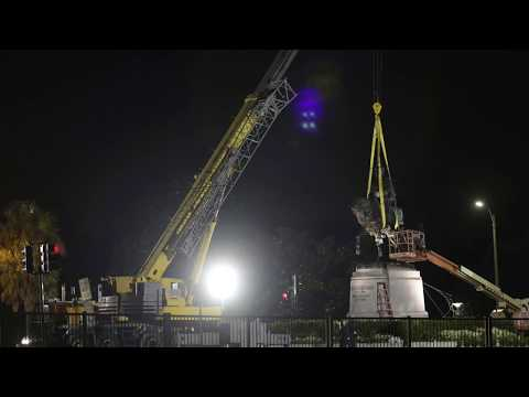 Watch New Orleans' P.G.T. Beauregard Monument come down in 30 seconds (Timelapse)