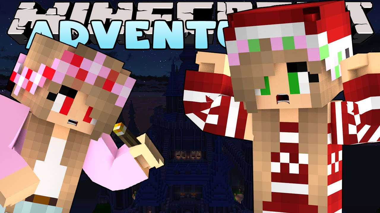Minecraft-Little Kelly Adventures-EVIL LITTLE KELLY ATTACKS THE CASTLE w/Evil Little Carly.