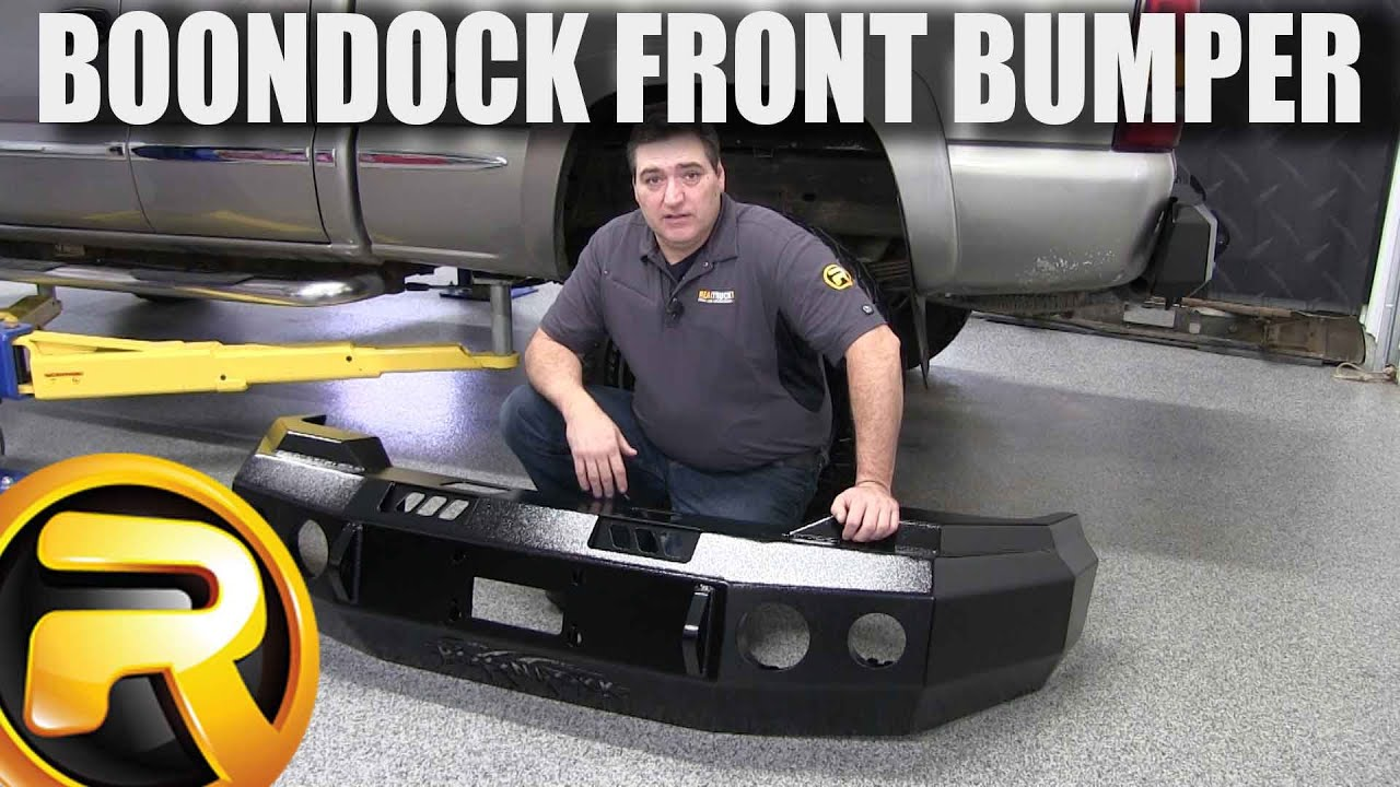 How to Install the Boondock 95-Series Front Bumper - YouTube