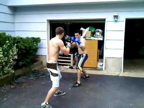 bbb 1 backyard boxing bros 1 first fight youtube