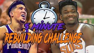 5 Minute Rebuilding Challenge | Phoenix Suns in NBA 2K19