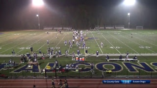 Tri-County Owls vs. Sussex Stags Football Playoffs