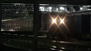 2020年10月14日 205系M17編成ジャカルタ甲種 京葉臨海鉄道 蘇我駅にて