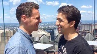 Jonathan Groff / Lin Manuel Miranda #ham4all Challenge