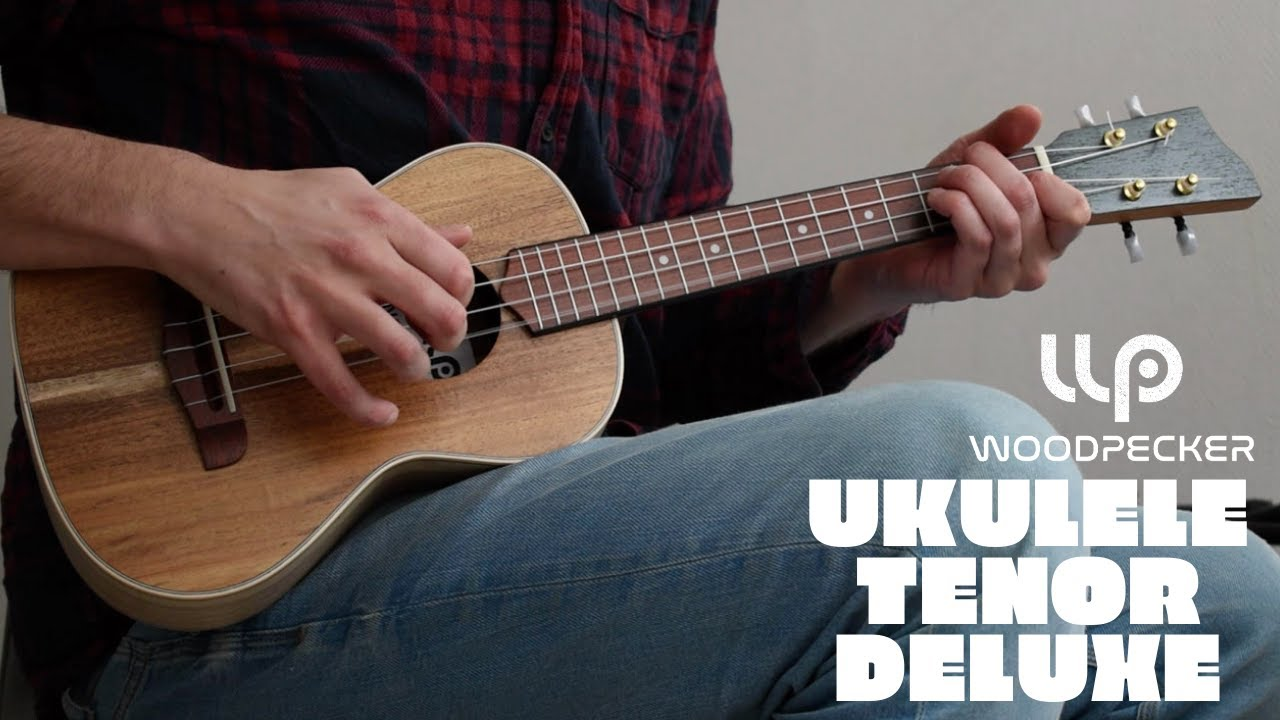 The Beatles - Something  - Woodpecker Tenor Ukulele Deluxe
