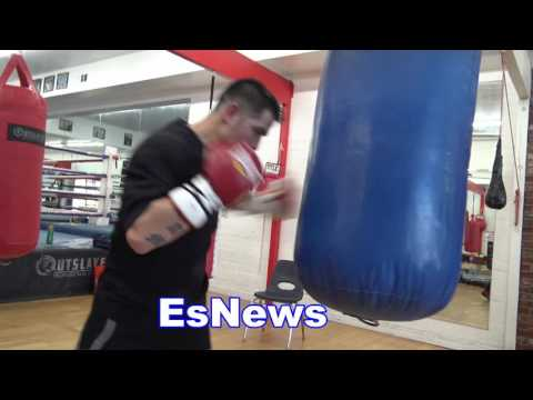 Brandon Rios Loves Sparring - EsNews Boxing