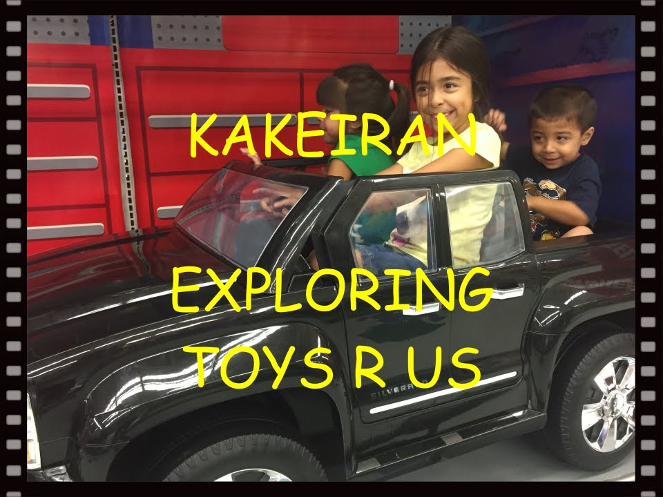 Exploring Toys R Us Bikes Electric Cars And Mario Kart Youtube