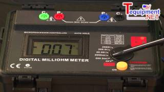 Amprobe MO-100 Milliohm Meter