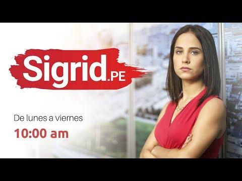 Entrevista con Duberlí Rodríguez - SIGRID.PE con Sigrid Bazán - 06/09/17