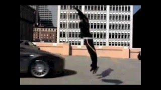 Kobe Bryant Jumps Over A Car!