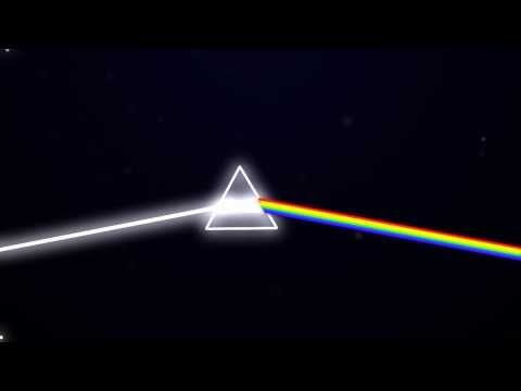 Dark Side Of The Moon Prism Animation - [HD]