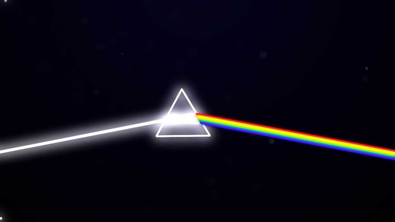 3d Holograms Wallpaper Dark Side Of The Moon Prism Animation Hd Youtube