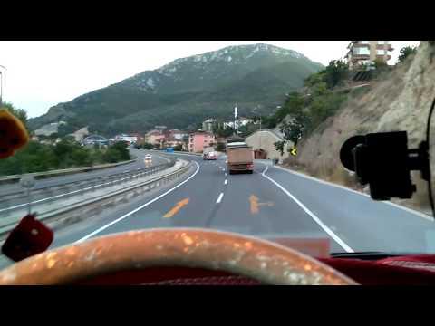 istanbul Bilecik Eskişehir seferimiz ve ben Mercedes Benz Axor çekici