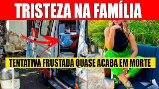 TRISTE: Jovem famosa brasileira tenta a PI0R das atitudes e vai parar no