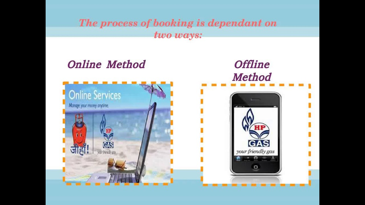 hp gas sms booking procedure