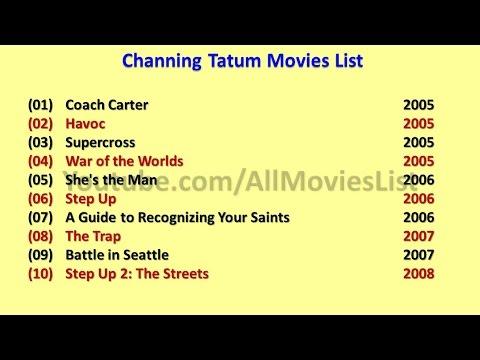 Channing Tatum Movies List - YouTube