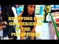 Shopping For Groceries In The Philippines