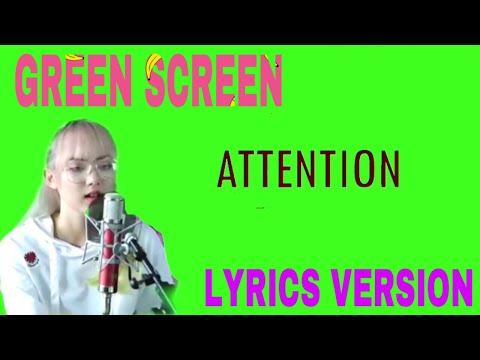 Attention - Charlie Puth   Cover by Jannine Weigel LIRIK MUSIK GREEN SCREEN