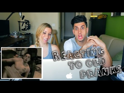 REACTING TO OLD PRANKS CHALLENGE